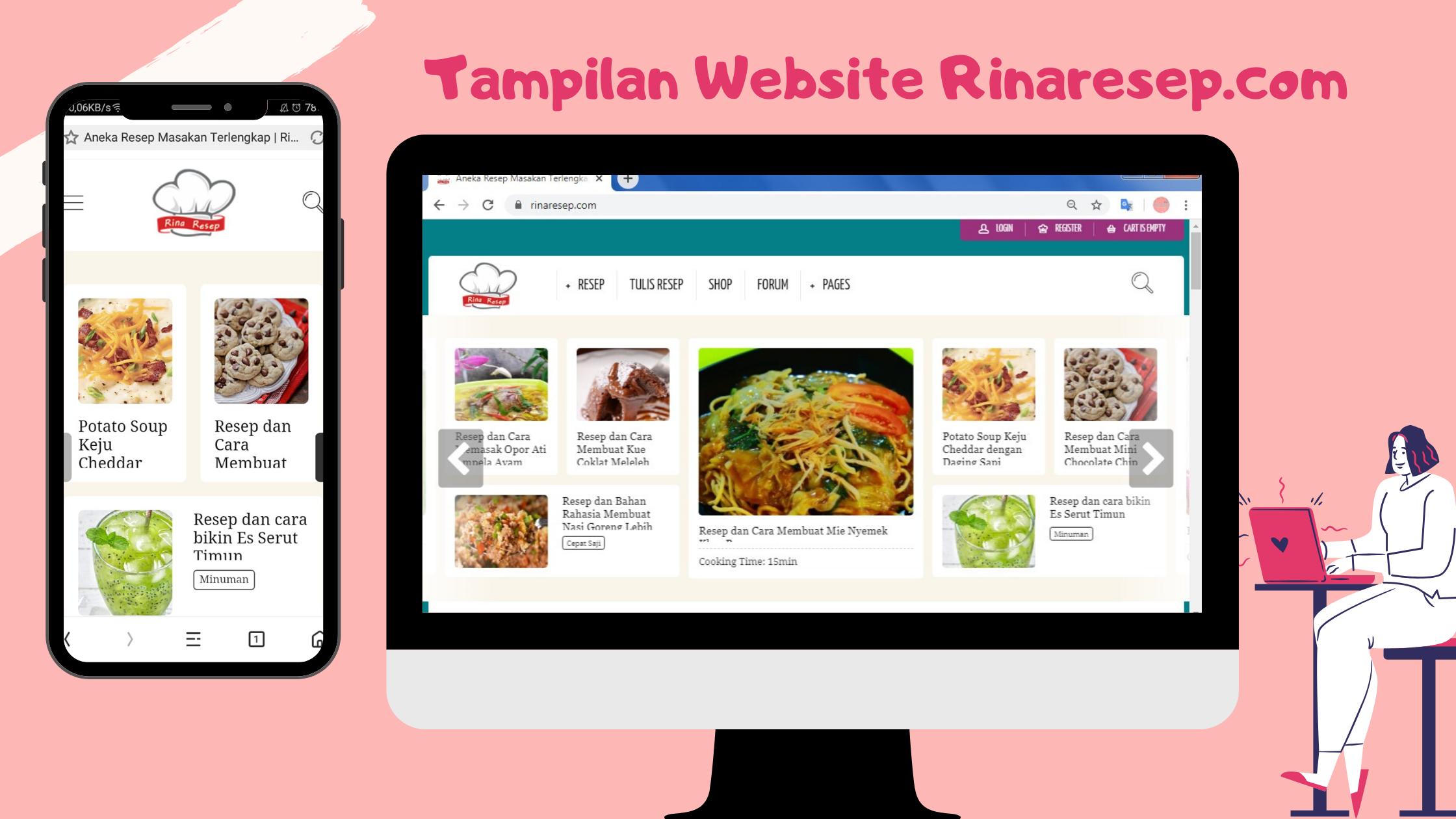 tempilan resep masakan rinaresep.com