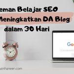 belajar SEO dan DA blog