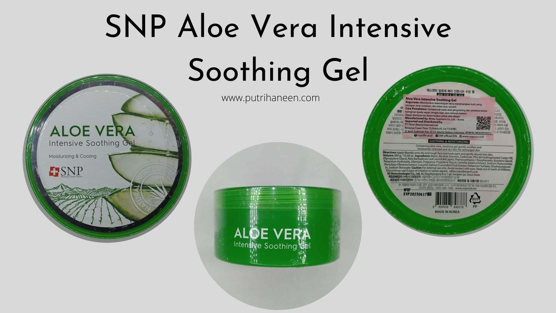 SNP Aloe Vera Soothing Gel