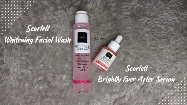 Scarlett Whitening Facial Wash